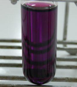 Diiode dissous dans du cyclohexane