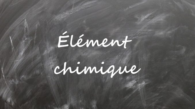 Element chimique
