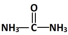 formule semi developpee de l uree