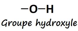 Groupe caractéristique hydroxyle