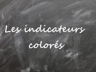 Indicateur coloré de pH