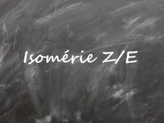 Isomérie Z/E