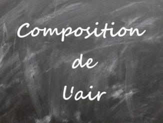 Composition de l'air