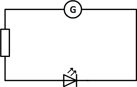 Circuit en série avec trois dipôles