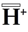 Lacune électronique de l'ion hydrogène