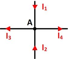 Exemple d'application de la loi des noeuds