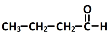 butanal - formule semi-développée