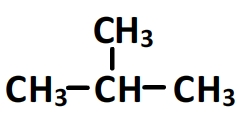 methylpropane, formule semi-développée