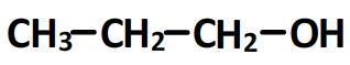 propan-1-ol - formule semi-développée