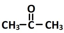 propanone - formule semi-développée