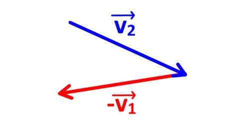 Tracer du vecteur variation de vitesse étape 3