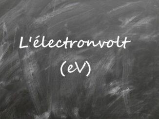 L'électronvolt